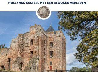 Ruïne van Brederode. Hollands kasteel met een bewogen verleden